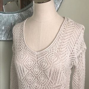 Aeropostale crochet sweater/ shirt